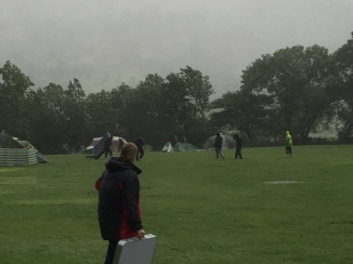 More dead tent, more Welsh weather